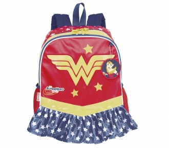 Mochila Super Hero Girls 17Y Wonder Woman Grande 8513