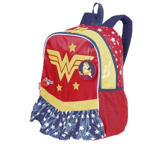 Mochila Super Hero Girls 17Y Wonder Woman Grande 8514