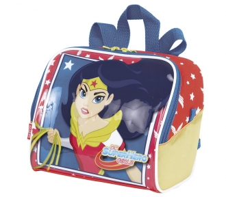 Lancheira Super Hero Girls 17Y Wonder Woman Grande 8465