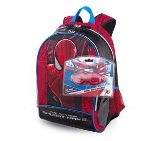 mochila grande spiderman filme 15z em imagem frontal