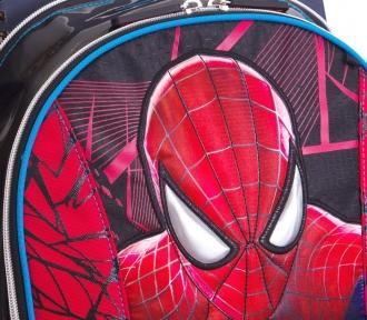 mochila grande spiderman filme 15z em detalhe