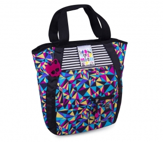 bolsa tote monster high 15t03 roxa frente