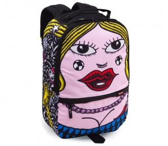 mochila costal juvenil by rolim lady frente