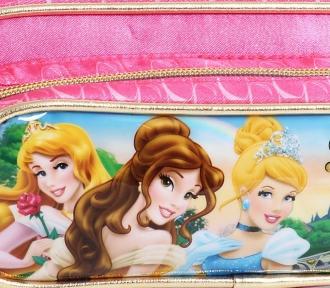 estojo princesas castelo III duplo detalhe
