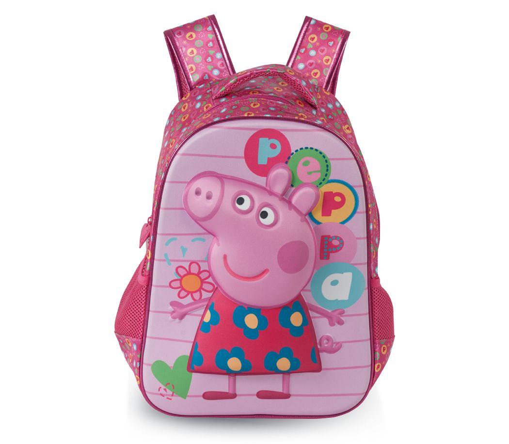 9aba1265f Mochila Grande Peppa Pig Colorful | Compre aqui a sua Mochila da Peppa