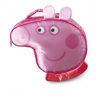 lancheira peppa pig colorful frente