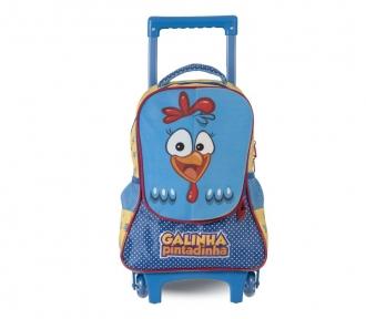 mochilete média galinha pintadinha magic frente