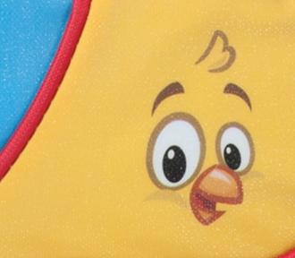 estojo galinha pintadinha magic duplo detalhe