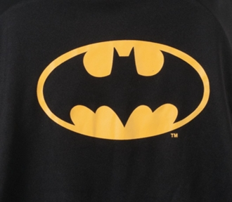 mochila grande batman night detalhe