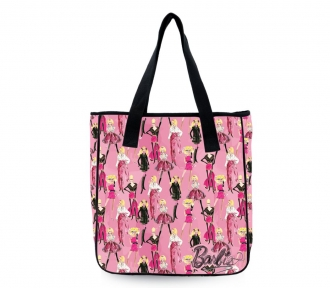 bolsa tote barbie fashion sketch frente