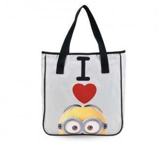 bolsa tote meu malvado favorito 2 love minion frente