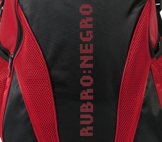 mochila grande flamengo rubro negro 1828
