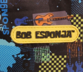 mochila grande bob esponja tween ii detalhe
