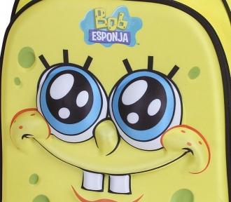 mochila bob esponja yellow ii detalhe
