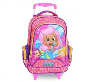 mochilete grande bubble guppies girls  frente