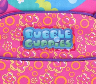 mochilete grande bubble guppies girls detalhe