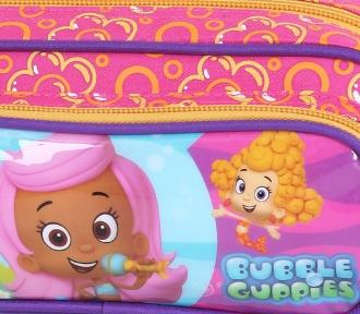 estojo bubble guppies girls duplo detalhe