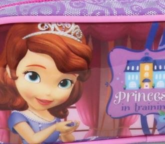 estojo princesa sofia training duplo detalhe
