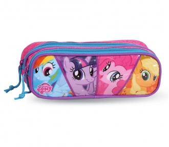 estojo my little pony duplo frente