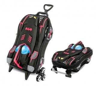 kit batman mochilete e lancheira frente