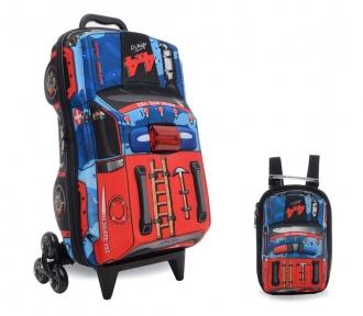 kit mochilete e lancheira resgate off road frente