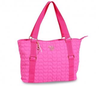 bolsa tote capricho love vi pink 3044