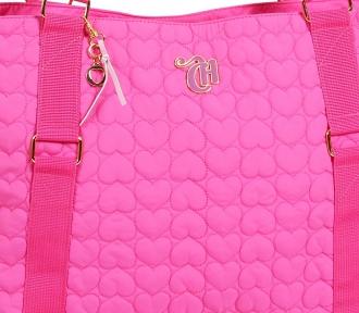 bolsa tote capricho love vi pink 3046