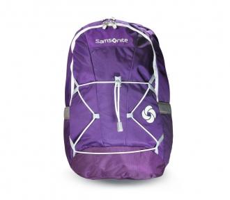 mochila costal juvenil ember purpura frente