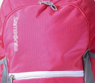 mochila costal juvenil octane rosa detalhe