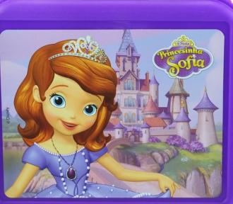 lancheira princesa sofia injetada detalhe