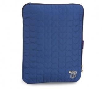 case notebook capricho love vi dark blue frente