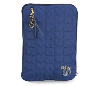 case tablet capricho love vi dark blue frente