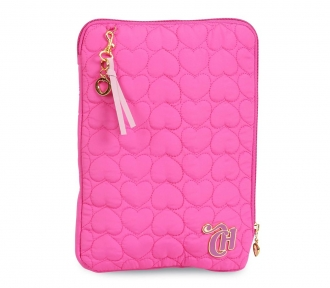 case tablet capricho love vi pink frente