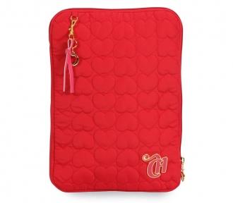 case notebook capricho love vi red frente
