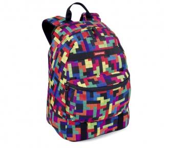 Mochila Sestini Authentic 16T01 Tetris Grande Frente