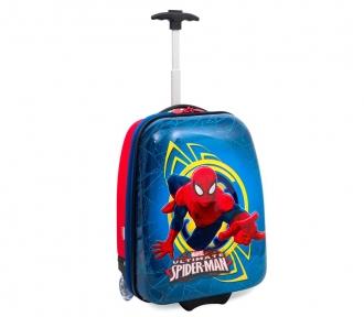 mala escolar spiderman 16pc frente