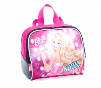 lancheira barbie rockn royals rosa grande