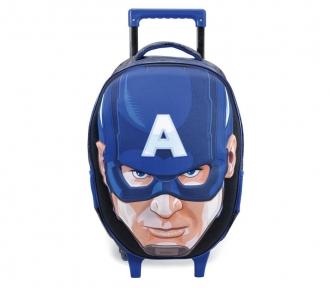 mochilete avengers capitão america frente