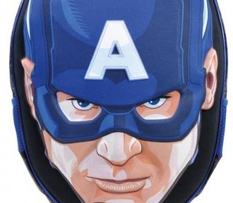 mochilete avengers capitão america detalhe
