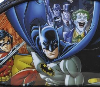 estojo batman gothan face duplo detalhe