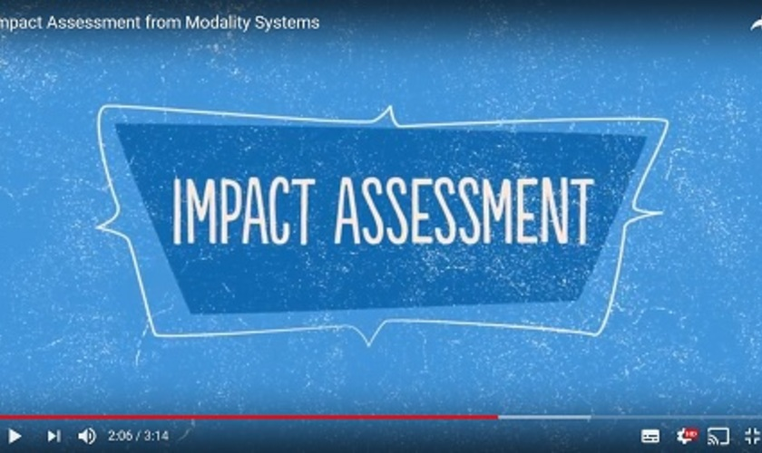 Normal2x impact assessment video resource area
