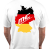Germany tee white rear