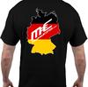 Germany tee black rear