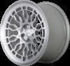 Radi8 r8a10 wheels   matte silver machined 2