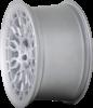 Radi8 r8a10 wheels   matte silver machined 3