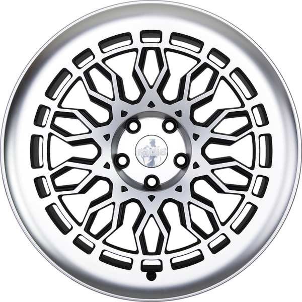 Radi8 r8a10 wheels   black machined 4