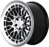 Radi8 r8a10 wheels   black machined 1