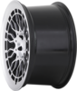 Radi8 r8a10 wheels   black machined 2