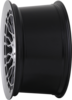 Radi8 r8a10 wheels   black machined 3