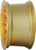 Radi8 r8a10 wheels   gold brushed face 4